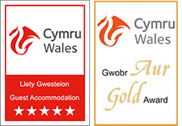 Visit Wales: 5 Stars and Gold Award